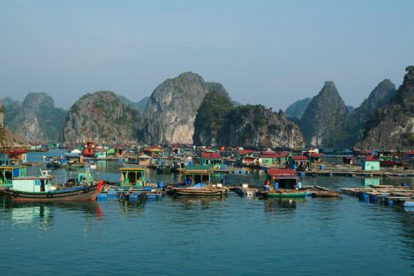 Vietnam Halong Bay by Sarka Holeckova San Francisco and Santa Barbara travel photographer