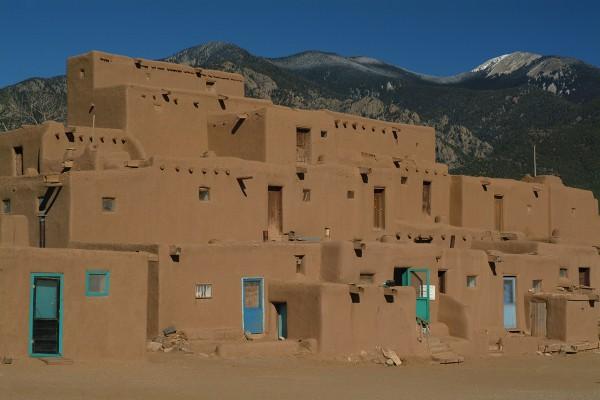 Taos Pueblo New Mexico photographed by santa Barbara based travel photographer Sarka Holeckova