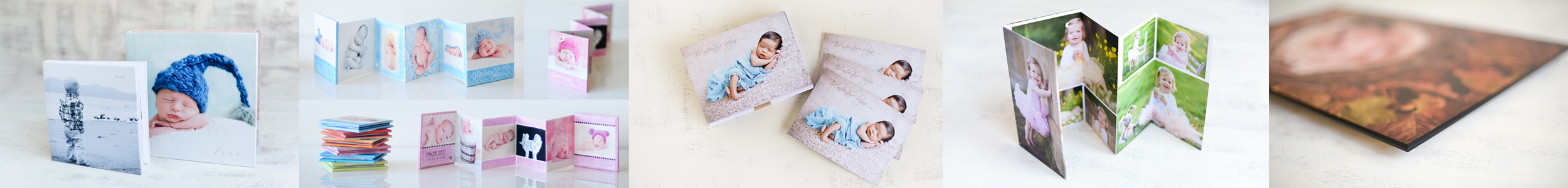 Sarka Photography albums books prints and gift products for baby photography